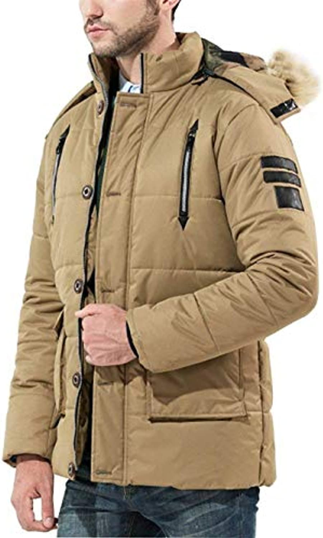 Huixin Cappotto da Uomo Giacche A Tasche con Lunghe Cerniera Ragazzo  Maniche Tasche A Frontali Cappotto a4d06010a49