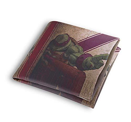 Brieftasche Ninja Turtle Spiel Pu Wallet Herren Geldbörsen Kreditkarteninhaber Student Coin Pocket Purse, A (Weiblich Turtles Ninja)