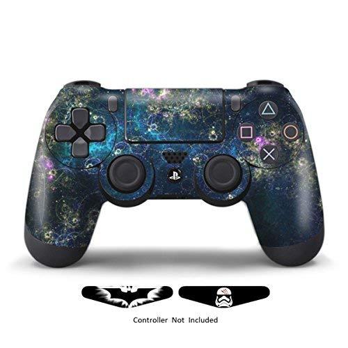 Skins für die PS4Controller–Aufkleber für Playstation 4Spiele–Aufkleber Schutzhülle für PS4Slim Sony Play Station Vier Controller Pro PS4Zubehör PS4Fernbedienung Wireless Dualshock 4 Universe