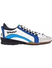 8e5c305cac8ca Dsquared2 zapatos zapatillas de deporte hombres en piel nuevo 551 ternegro  sport