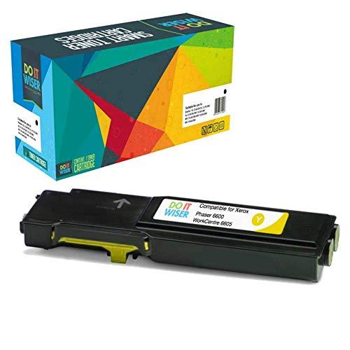 Preisvergleich Produktbild Do it Wiser ® Kompatible Toner Gelb für Xerox Phaser 6600 6600n 6600dn 6600dnm WorkCentre 6605 6605n 6605dn / 106R02231 (6.000 Seiten)
