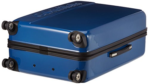 41gBm%2BNDy9L - Calvin Klein - Maleta tip trolley con reudas, 80 cm, 110 L, Azul