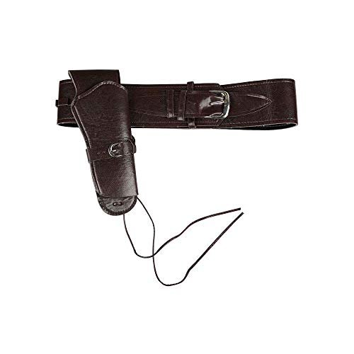 Deluxe Cowboy Holster Black for Fancy dress - John Wayne Kostüm