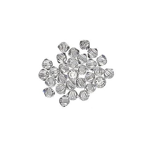 Cristal Swarovski perles toupies cristal (001) 2,5mm pk30
