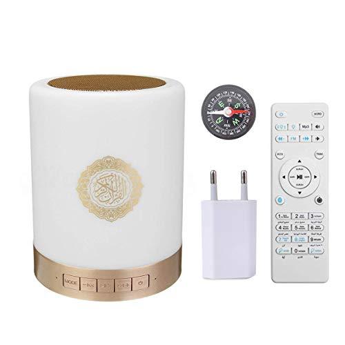 Quran Lautsprecher FM Radio mit Fernbedienung Koran Mp3 Player Mehrsprachige Rezitierer Multi-Color LED-Leuchten. (Multi-LED) mit Kompass