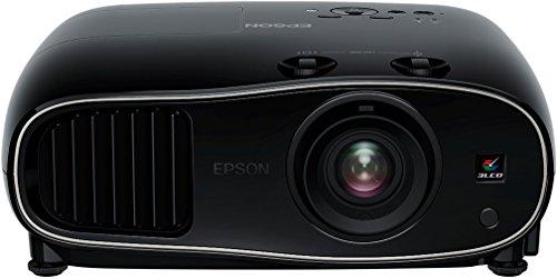 Epson EH-TW6600 3D Heimkino 3LCD-Projektor (Full HD 1080p, 2.500 Lumen Weiß & Farbhelligkeit, 1,6x fach Zoom, inkl. 1x 3D Brille) schwarz (Full-hd-projektor Epson)