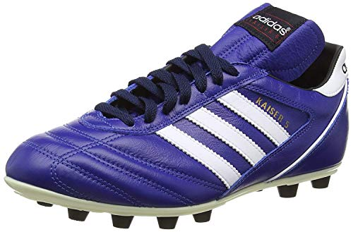 Adidas-Kaiser 5Liga, Herren Fußballschuhe, Schwarz (Black/Running White Ftw), 48 2/3 EU (13 Herren UK)