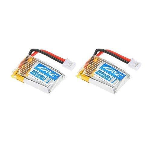 YUNIQUE Italien® 2Stück Batterie Li-Po für RC Drohne jjrc H36Notebook JJRC H36–0043.7V 150mAh 30C
