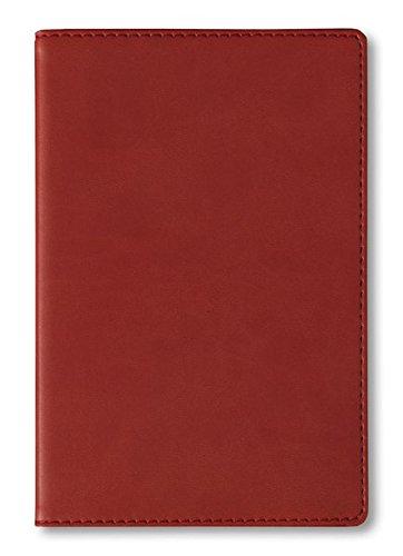 Adressbuch Tucson Red - Notizbuch / Taschenplaner rot (11 x 17) - 112 Seiten