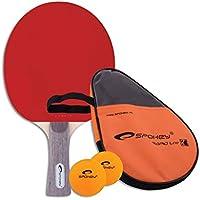 c92757025932e Spokey Unisexe Smash Ensemble pour tennis de table, Multicolore, taille  unique