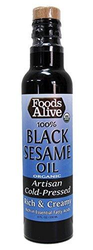 Foods Alive - Organic Raw Black Seed Oil 8 Fl. Oz. 179853