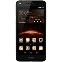 "Huawei Y5 II Smartphone, 5.0"" HD, Memoria Interna 8 GB, 1 GB RAM, Processore Quad-Core da 1.2 GHz, Fotocamera 8 MP, Nero"