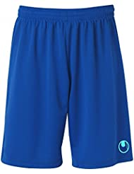 Uhlsport - Center Il Shorts With Slip Inside, color azul, talla XL