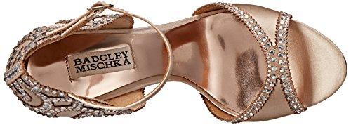 Badgley Mischka Roxy Textile Sandale Nude