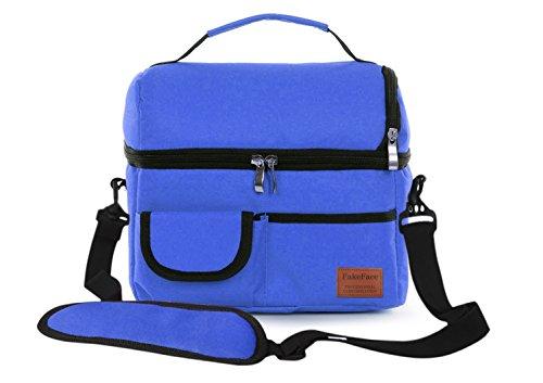 Kühltasche Coolerbag Kühlbox Eistasche Thermotasche große Mittagessen Tasche Picknicktasche Isoliertasche für Männer Frauen und Baby (Speicherung Von Die Besteck)