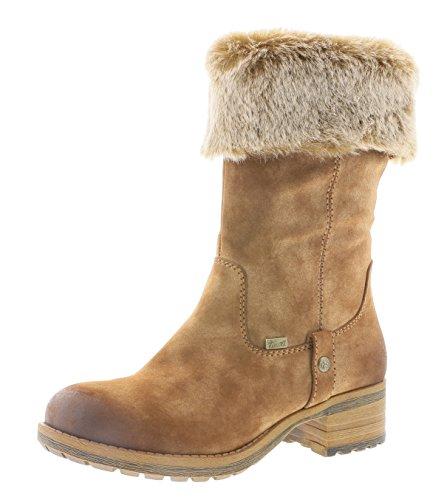 Rieker Damen Stiefel 96854, Frauen Winterstiefel, Tex, Woman Freizeit leger Winter-Boots halbschaftstiefel warm,REH/Steppe / 24,40 EU / 6.5 UK