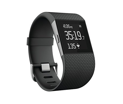 Fitbit Surge Ultimate Fitness Super Watch, Large (Black) - Get Amazon Gift Card worth Rs 2800 free