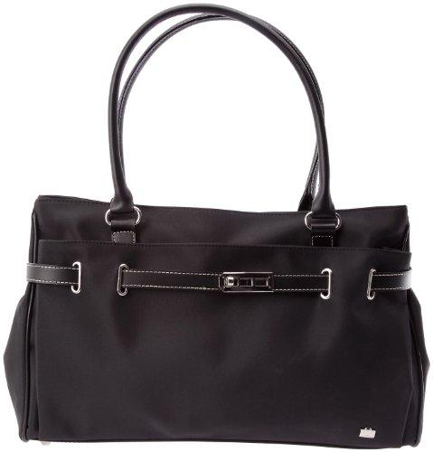 La Bagagerie Passy, Sac porté épaule Noir (Noir/Noir)