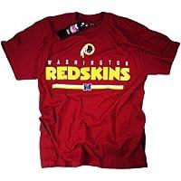 Washington Redskins camiseta ropa Apparel producto oficial de la NFL team logo por el fútbol de la Liga, unisex, color Rojo - rosso, tamaño mediano
