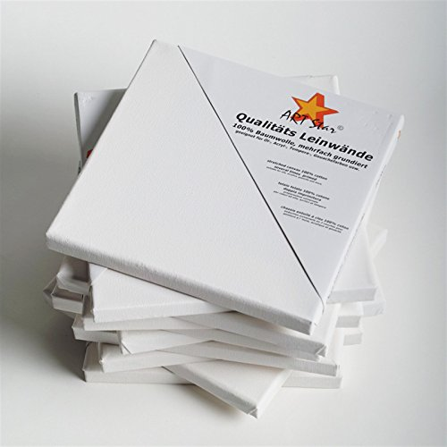 1art-star-tela-montata-su-telaio-malfertig-grundiert-economico-nel-prezzo-40x-40cm