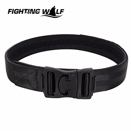 Generic BK : Tactical Military Combat Army Durable Comfortable Outdoor Sports Men1000D Tactical Nylon Duty Belt With Waist Protector