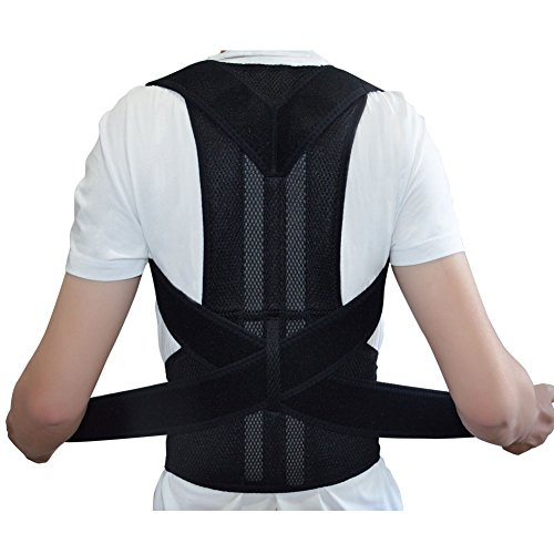 Ajustable soporte de la espalda corrector de...