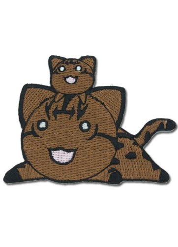Azumanga Daioh Cats (Brown) Patch