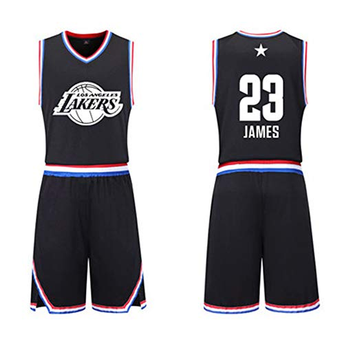 NBA Fan Jersey 2019 All-Star-Basketballanzug James # 23 Curry # 30 Durant Harden Jersey Sports Compassionate