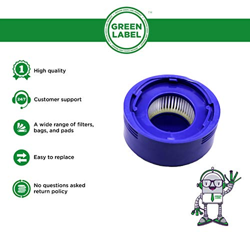 Zoom IMG-1 green label filtro post motore