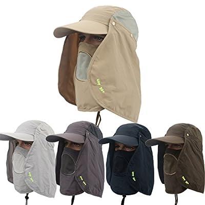 ECYC 360 Grad Sonnenschutz-Hut Breathable Wandern Moskito Abnehmbare Cap von MYB auf Outdoor Shop