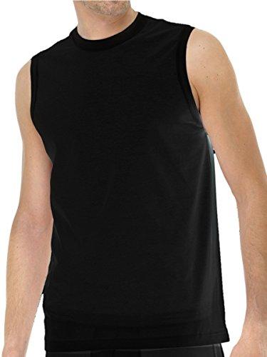 fcd9539360de Schiesser Herren Unterhemd Muskelshirt breite Träger 208010 Schwarz ...