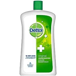 Dettol Liquid Handwash Refill Bottle - Original Germ Protection Hand Wash, 900 ml   Antibacterial Formula   10x Better Germ Protection