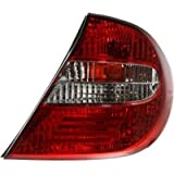 Evan-Fischer EVA15672014624 Tail Light Passenger Side RH Plastic lens OE design Clear and red DOT, SAE approved by Evan-Fischer Auto Parts