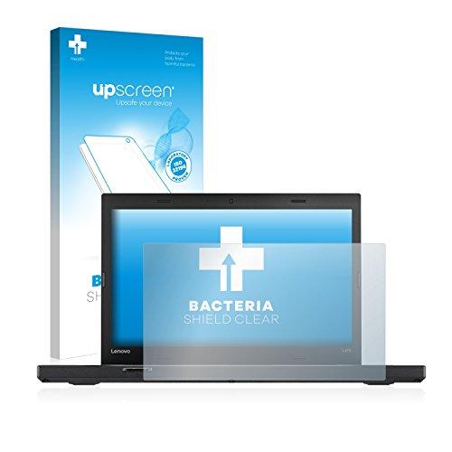 upscreen Antibakterielle Schutzfolie kompatibel mit Lenovo ThinkPad L470 Klare Bildschirmschutzfolie