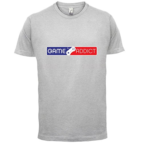 Game Addict - Herren T-Shirt - 13 Farben Hellgrau