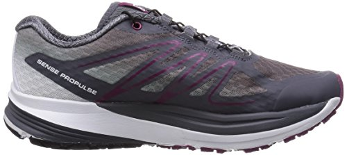 Salomon Sense Propulse, Chaussures de course femme Gris - Grau (Dark Cloud/Light Onix/Mystic Purple)