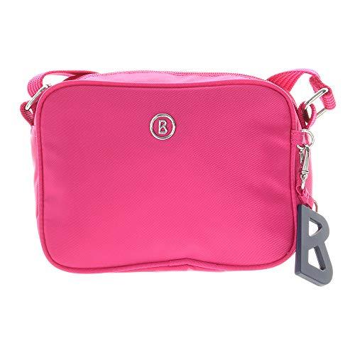 Pink Taschen (Bogner Damen Verbier Vroni Shoulderbag Xshz Schultertasche, (Pink), 7.0x13.0x18.0 cm)
