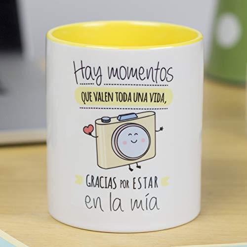 La Mente es Maravillosa - Taza con Frase y dibujo. Regalo original y gracioso...