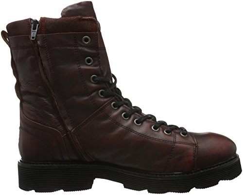 Yellow Cab Piston M, Bottines à doublure froide homme Rouge - Rot (Bordeau)