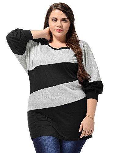 allegra-k-women-plus-size-color-block-dolman-sleeves-scoop-neck-tunic-black-3x