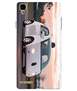 Case Cover Printed Multicolor Hard Back Cover For Oppo F1 Selfie
