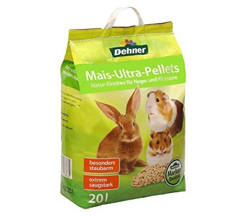 Dehner Nagerfutter, Mais-Ultra-Pellets, 20 l -