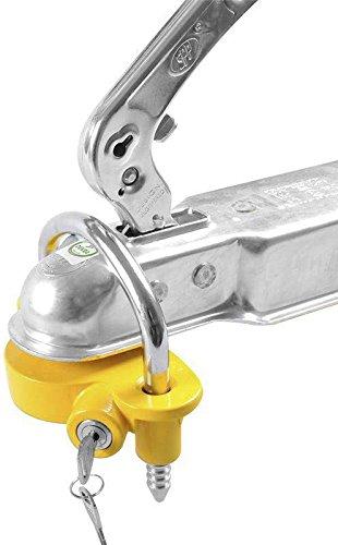 ProPlus 341329Kupplung Anhängerkupplung Lock mit Zylinder - Für Schloss Anhänger