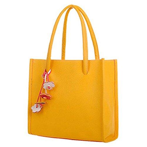 meizu88, Borsa a spalla donna Yellow