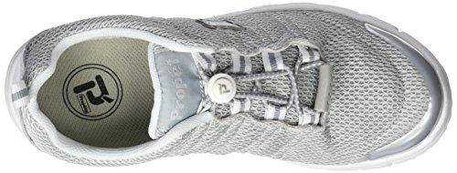 Propet Damen W3239_m(b) Sneaker Grau (Silver)