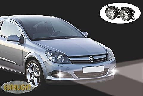 Fahrzeugspezifisches LED-Tagfahrlicht-Set mit LED Nebelscheinwerfer Opel Astra H