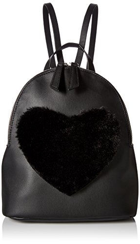 t-shirt-jeans-back-pack-with-faux-fur-heart-black