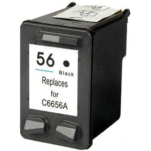 Prestige Cartridge HP 56 Cartucho de tinta para HP Photosmart/Deskjet/Officejet Serie, negro