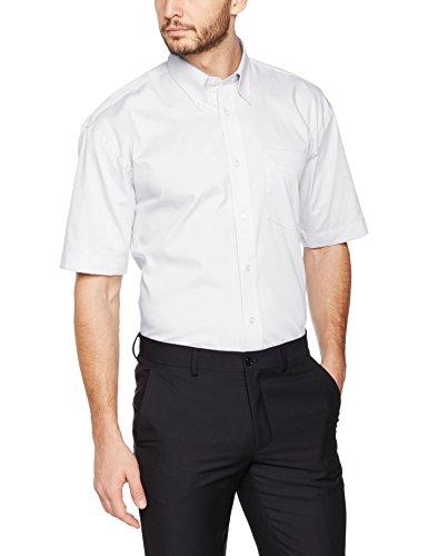 Kustom Kit Herren Business-Hemd Kk109A, Weiß, 43 cm (Herstellergröße: L) Preisvergleich
