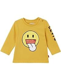 Levi's Ls Tee Smily, Camiseta para Bebés